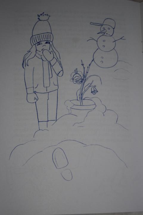 """Książka dla dzieci. Bajka pt.: """"Dzieci, Róża i Pan Bóg""""."""
