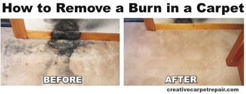Fix Cigarette Burn Marks in Carpet With These Three DIY Steps