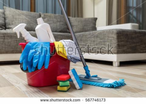 We provide the cleaning services !