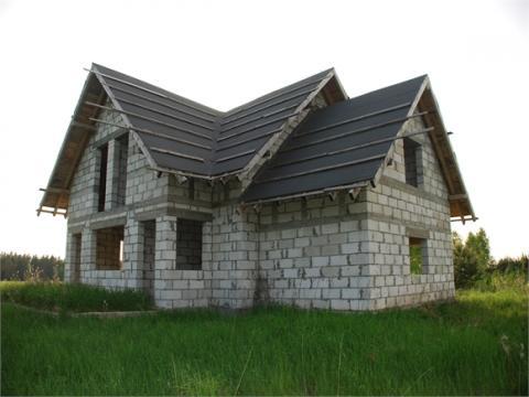 Sprzedam dom w stanie surowym na Mazurach