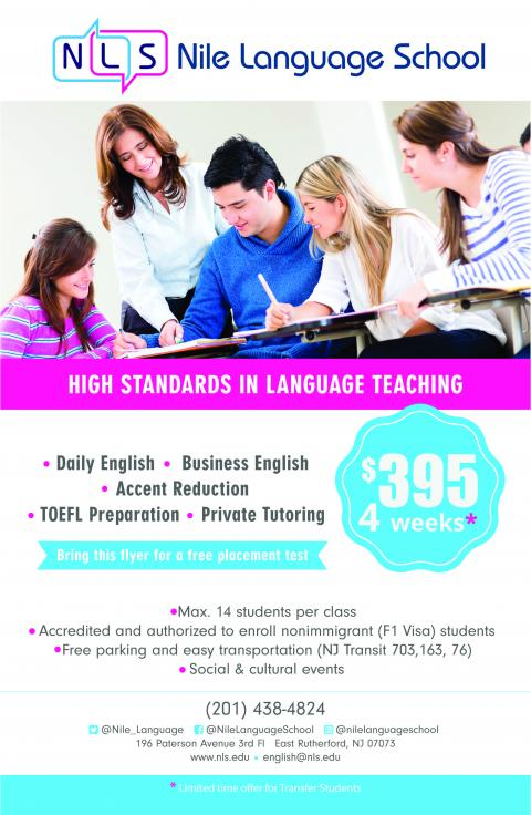 Learn English with Nile Language School