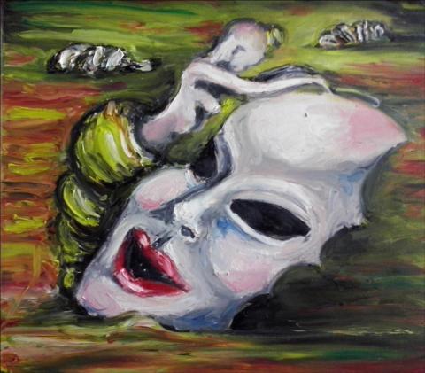 Sprzedam obraz olejny na płótnie 40cm x 40cm