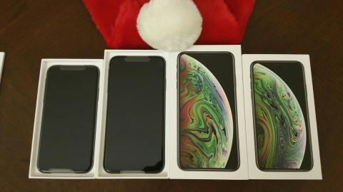 Buy 2 And Get 1 Free For Brand New Apple iPhone XS and Apple iPhone XS MAS