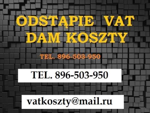 Dam Koszty-Odstąpię Koszty VAT