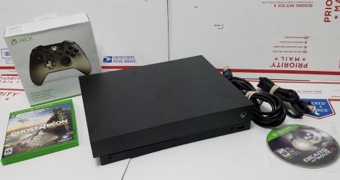 Konsola Microsoft Xbox One S 1TB z kontrolerem BONUS