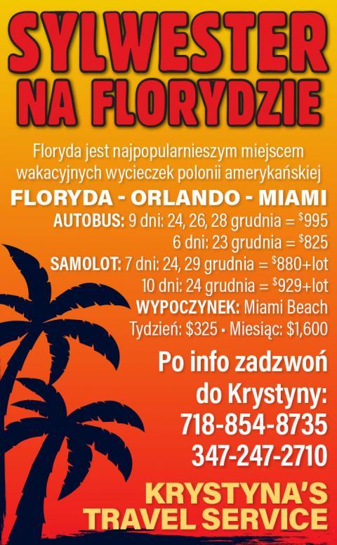 Sylwester na Wycieczce na Florydzie